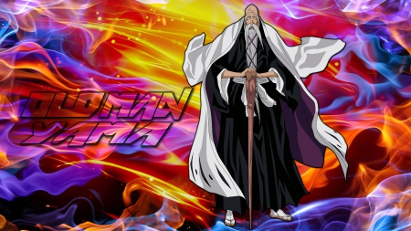 Old Man Yama Bleach Anime Background Wallpapers On