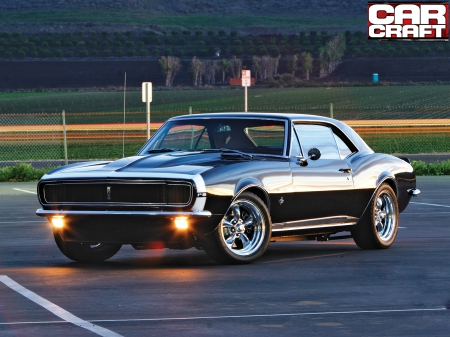 67 Chevrolet Camaro RS - Chevrolet & Cars Background Wallpapers on
