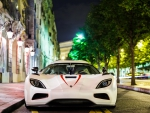 gorgeous koenigsegg on a paris street