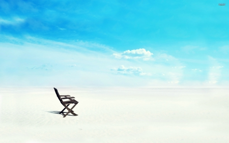 White Sands Chair - beach chair, white sands beach, white sands, White Sands Chair