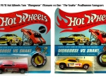 1970 Hot Wheels Mongoose Vs Snake Funnycars