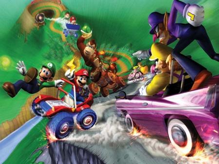 Mario Kart Double Dash Mario Video Games Background Wallpapers On Desktop Nexus Image 1458443