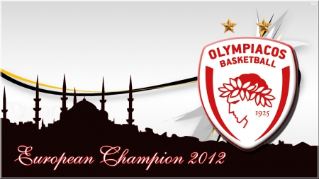 Olympiacos Champion 2012 Basketball Sports Background Wallpapers On Desktop Nexus Image 1459490