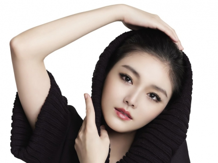 barbie hsu - beauty, black, look, model