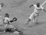 Jackie Robinson Stealing Home