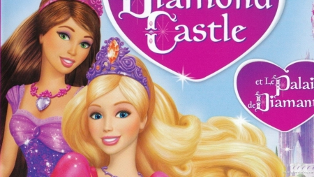 Barbie In The Diamond Castle Movies Entertainment Background