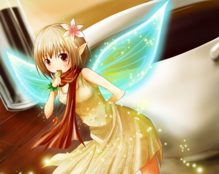 Lil Fairy Other Anime Background Wallpapers On Desktop Nexus
