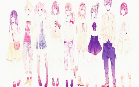 Cute Anime Bff Pink Wallpapers And Images Desktop Nexus Groups