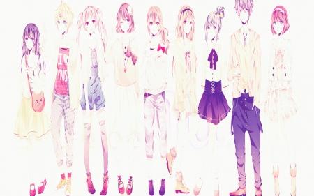 Cute Anime Bff