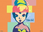 Tinkerbell color block
