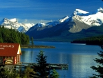 Maligne Lake,Jasper National Park, Alberta Canada