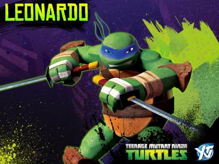 Tmnt 2012 Leonardo Wallpaper