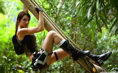 Tomb Raider 2013 Lara Croft Jungle Models Female People