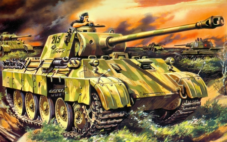 tank - vehicle, military, tank, weapon