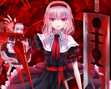 red evil other amp anime background wallpapers on desktop