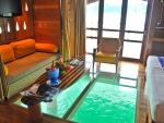 Water Villa Glass Floor Bora Bora French Polynesia
