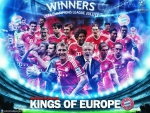 Bayern Munich Champions League wallpaper 2013