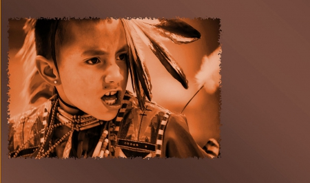 SingerDancer - american indians, native americans, boy singing, pow wow singer