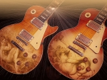 two beautiful gibson 59 les paul