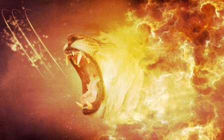 Lion's Roar~ - Primates & Animals Background Wallpapers on