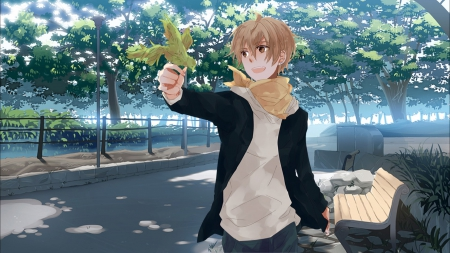 Unduh 83 Background Anime Boy HD Terbaru