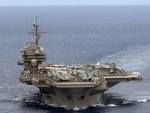 US Navy Aircraft Carrier