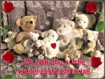 ♥ Happy Beary Birthday Card ♥