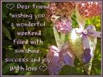 ♥ Weekend Wishing Card ♥
