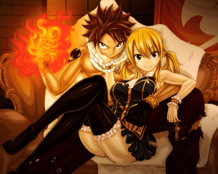 King And Queen Of Fairy Tail Nalu Other Anime Background