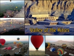 Ballooning over the Valley of the Kings
