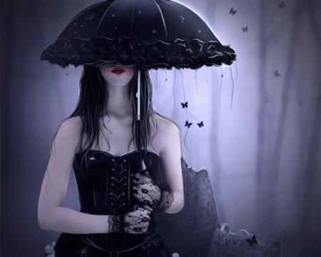 Gothic Girl Mystery