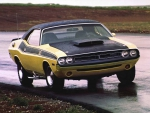 Old School Dodge Challenger