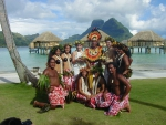Tahitian Desert Island Polynesian Wedding At Bora Bora Pearl Resort