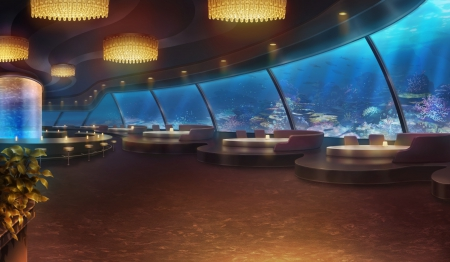 Aquarium Restaurant Other Amp Anime Background Wallpapers