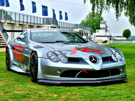 Mercedes SLR - slr, car, mb, mercedes, tuning