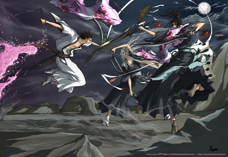 Final Fight Bleach Anime Background Wallpapers On