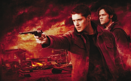 Sam and Dean Winchester - sam winchester, sam and dean, sam and dean winchester, dean winchester, supernatural