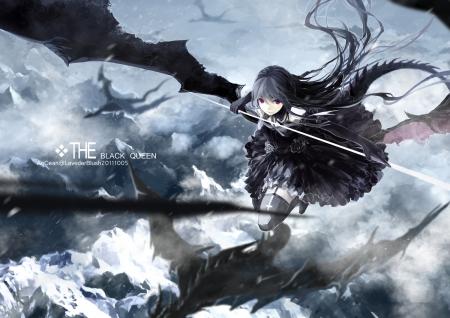 The Black Queen Other Anime Background Wallpapers On Desktop Nexus Image 1483091