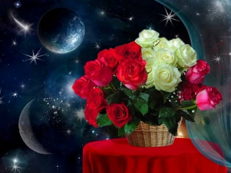 Good Evening Roses Wallpapers And Images Desktop