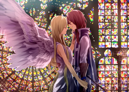 My Guardian Angel - Other & Anime Background Wallpapers on
