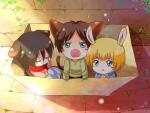 Mikasa-Eren-Armin