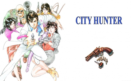 City Hunter Other Anime Background Wallpapers On Desktop Nexus