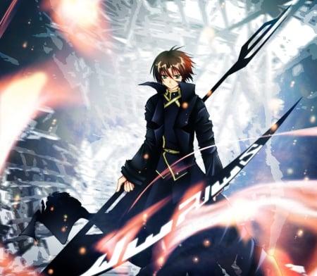 Zehel 39 s scythe other anime background wallpapers on - Anime scythe wallpaper ...