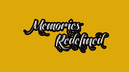 Memories Redefined - text, Yellow, Memory, redefined, memories, 3D and CG, Full HD, wallpaper, wordings, Abstract, wording wallpaper, Photoshop cs6, 1920X1080