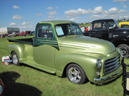 1951 GMC pickup Truck - photography, pickup, GMC, Truck, Green