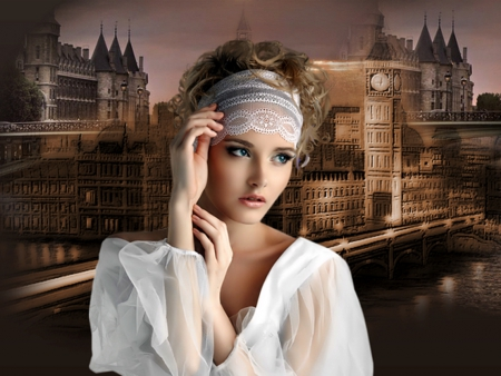 Somewhere In Time Models Female People Background