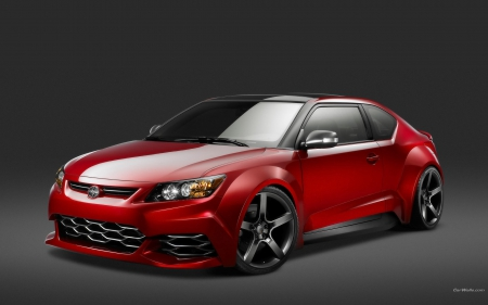 scion-tC - tc, red, scion, car