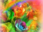 ✫Brighten of Roses Rainbow✫
