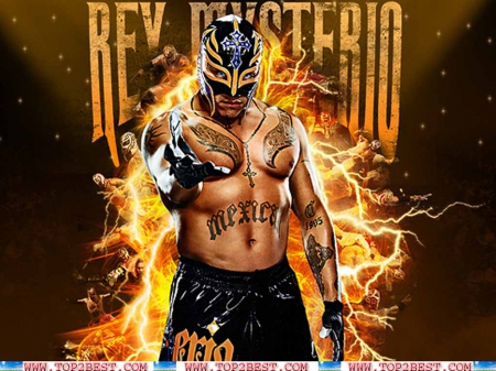 wwe rey mysterio wallpaper - wrestling, wwe, wallpaper, sports