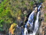 marvelous cascading waterfall in mexico hdr